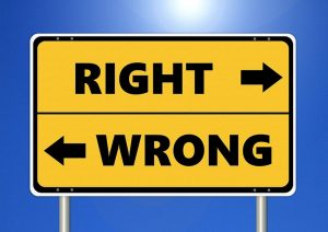 right&wrong